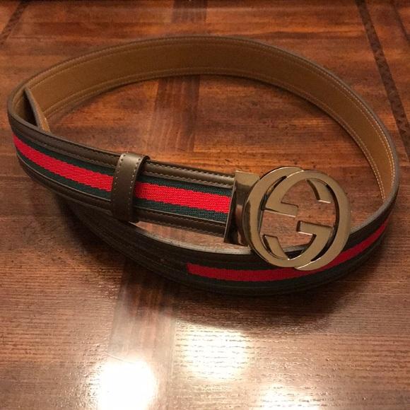 aa93def58 Gucci Accessories   Like New Mens Belt   Poshmark